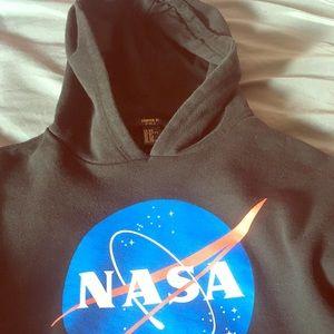Crop top sweatshirt (NASA)